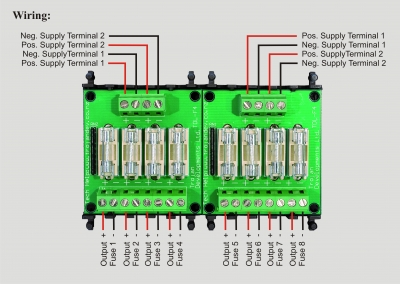 TDL 4FB fuse board wiring