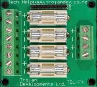 TDL 4FB – 4 Way Fuse Board